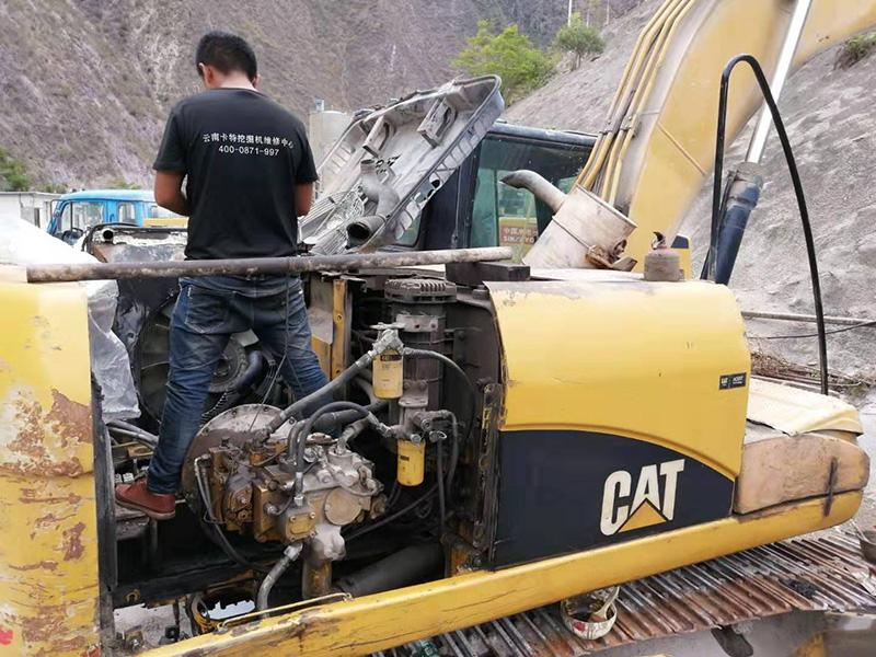 卡特挖掘机修理