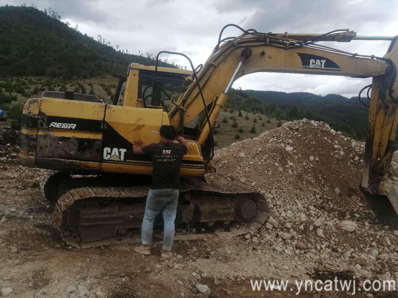 大型卡特挖掘机维修