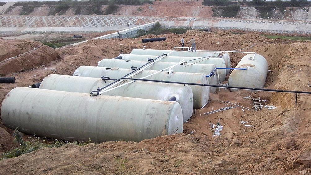 玻璃鋼雨水收集設備
