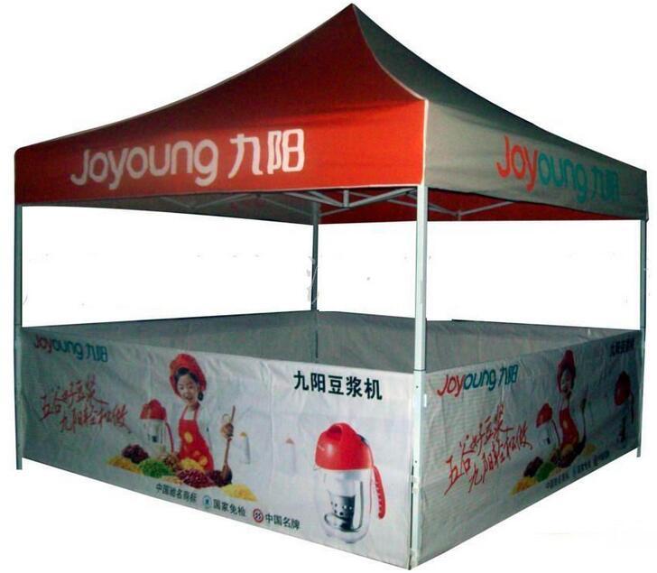 这样来设计广告帐篷保准备受路人的关注