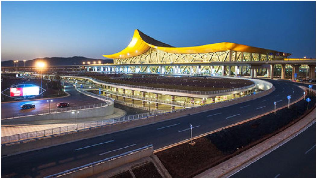 昆明长水机场工程案例