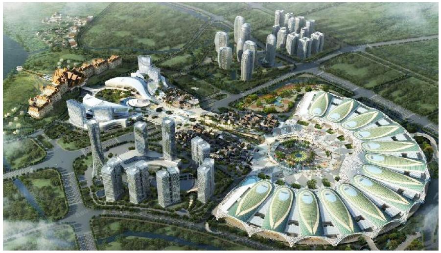 昆明滇池国际会展中心工程案例