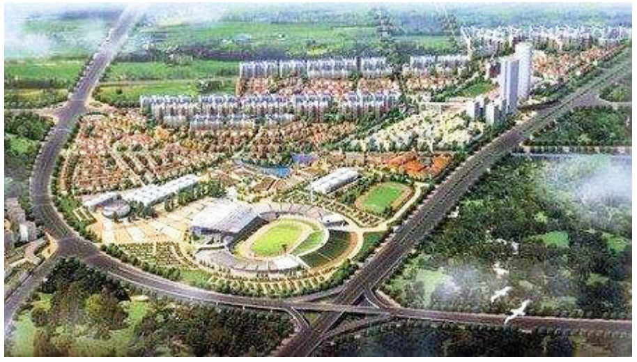 昆明新亚洲体育城工程案例