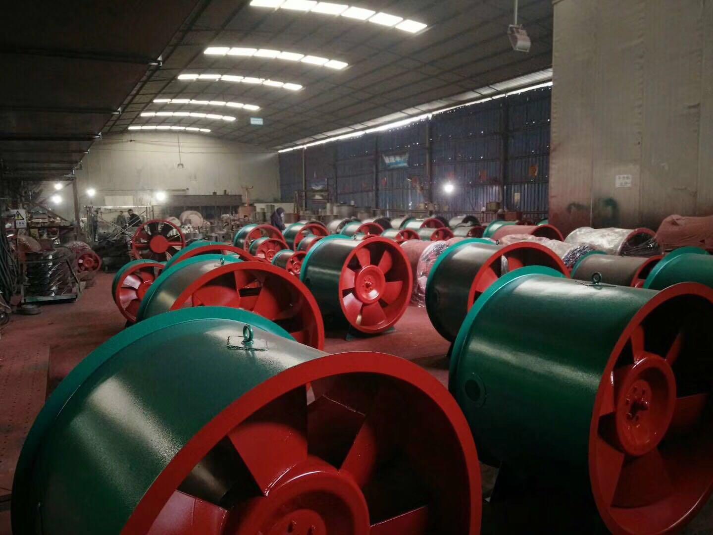 云南消防通风设备生产车间展示
