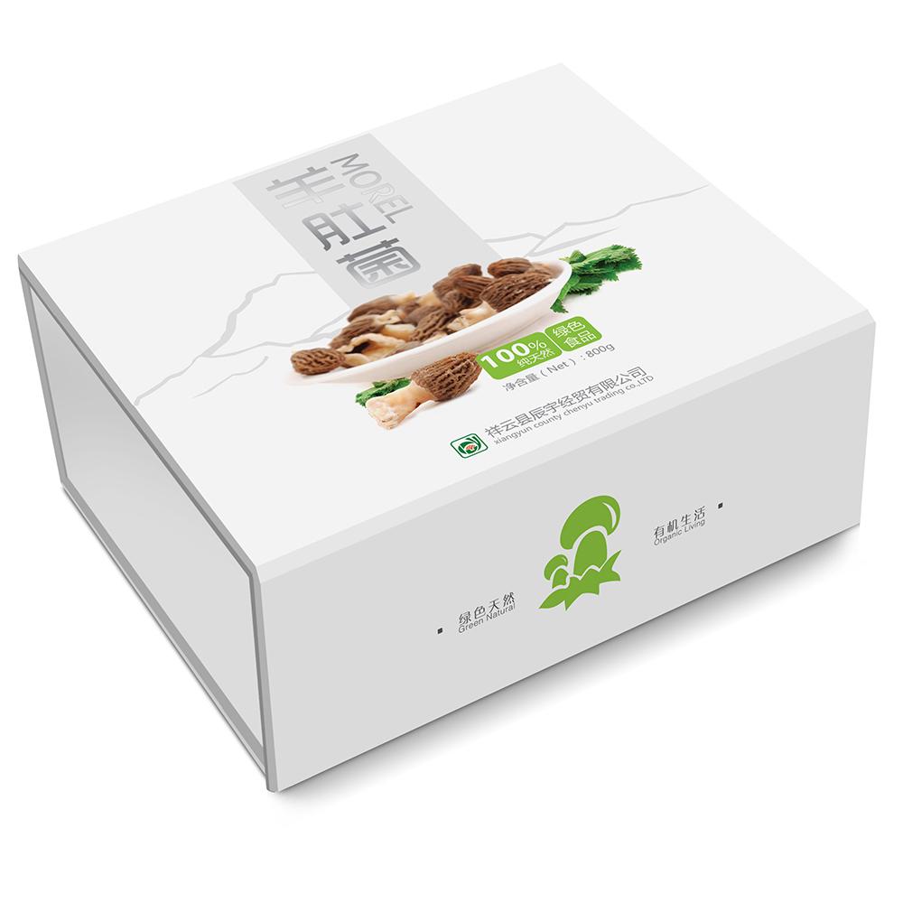 云南土特产包装盒设计制作批发公司-野生菌礼品盒