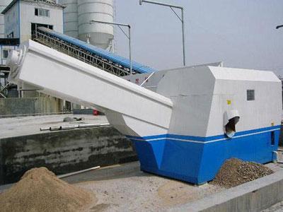 混凝土砂石分离机堵塞原因及处理办法
