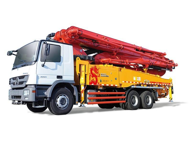 混凝土输送泵出现工作无力的现象该怎么办?