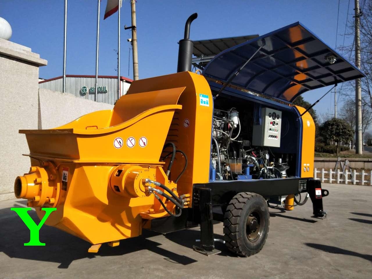混凝土输送泵选型应从哪些方面来考虑?