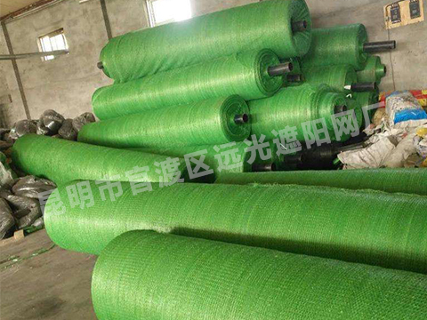 绿色盖土网防尘网