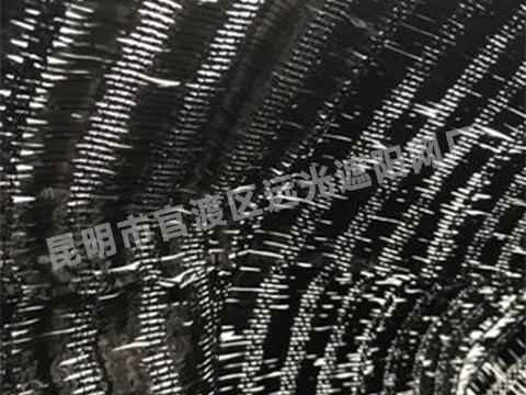 黑色平织网