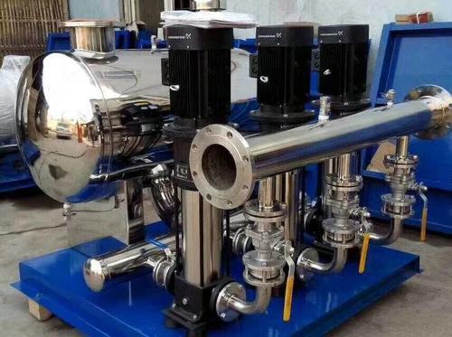 无负压供水设备的详细安装步骤