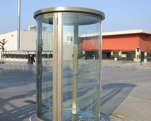 福州玻璃站岗亭