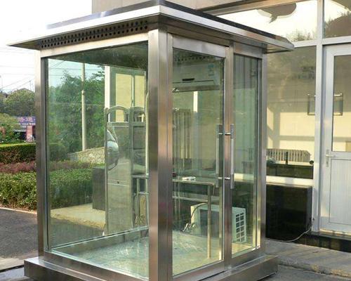 福建玻璃站岗亭