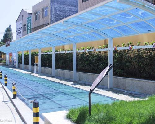 福州玻璃雨棚