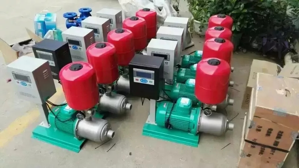 西安變頻恒壓供水廠家