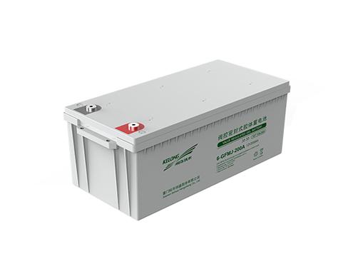 12V PVC 胶体电池