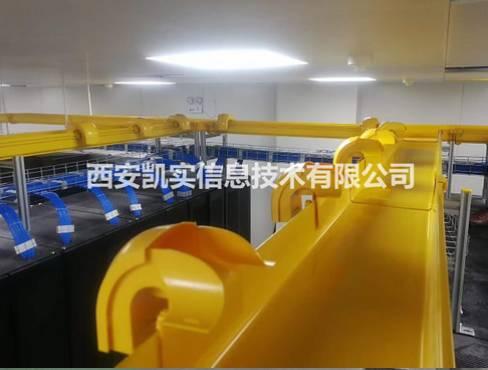 铜川西京医院模块化机房装修/强弱电及网线综合布线