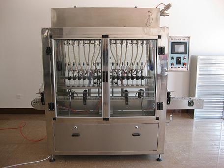 玻璃水自动化灌装机
