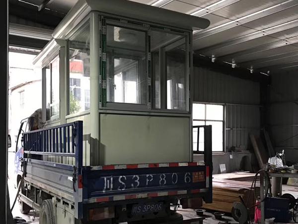 福州小型钢结构岗亭
