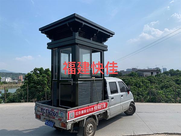 福州艺术钢构岗亭