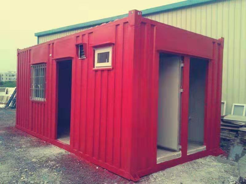 集装箱折叠房
