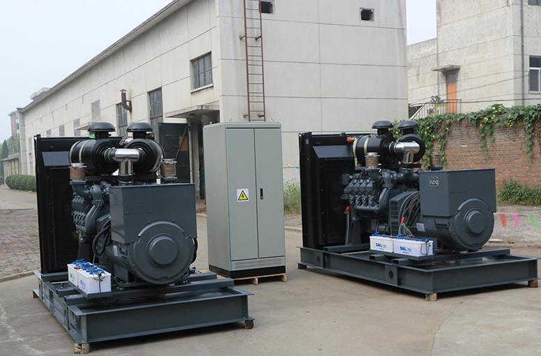 300kw道依茨发电机组销售案例