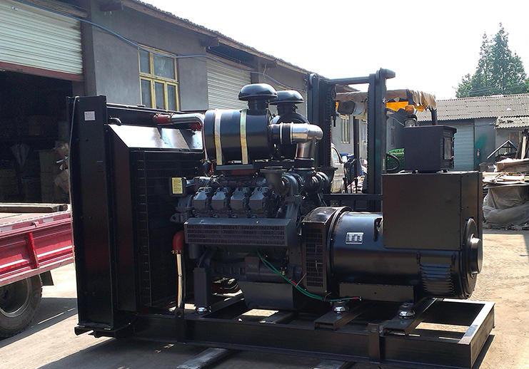 600kw道依茨发电机组销售案例