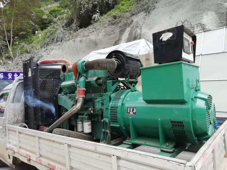 国家高速公路云南省东段工程采购300kw玉柴发电机