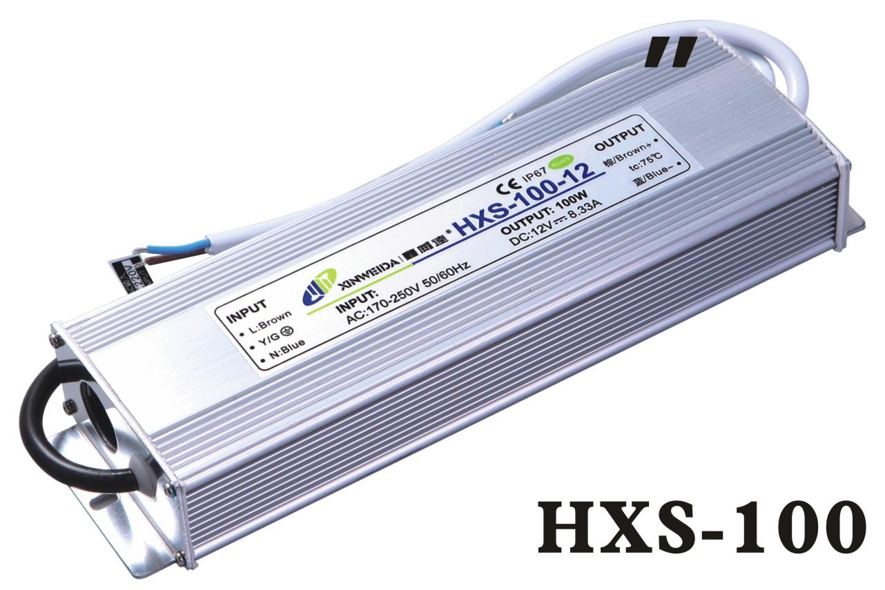 华鑫防水电源 HXS-100-12