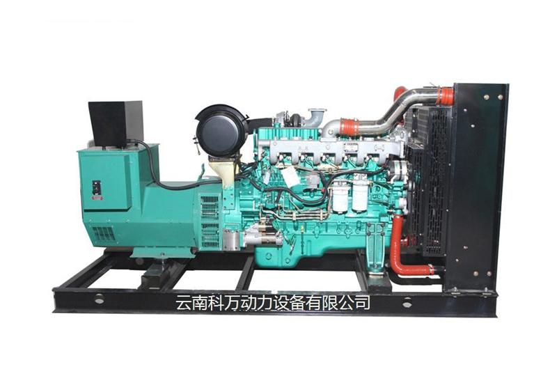 350KW超靜音玉柴發電機組