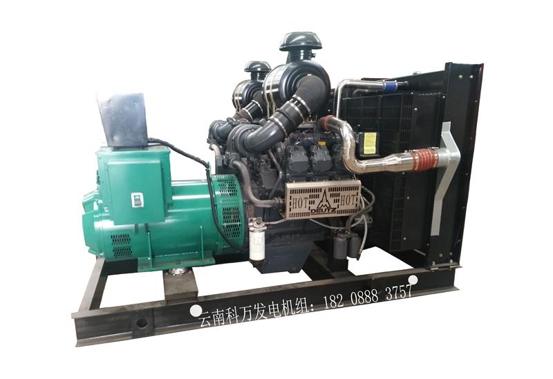 350KW移动式道依茨发电机组