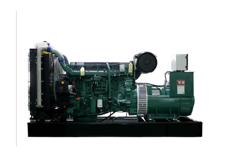 250kw移动式沃尔沃发电机组