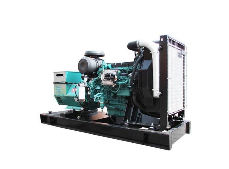 400kw移动式沃尔沃发电机组