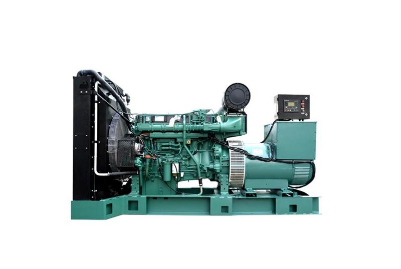500KW静音沃尔沃发电机组