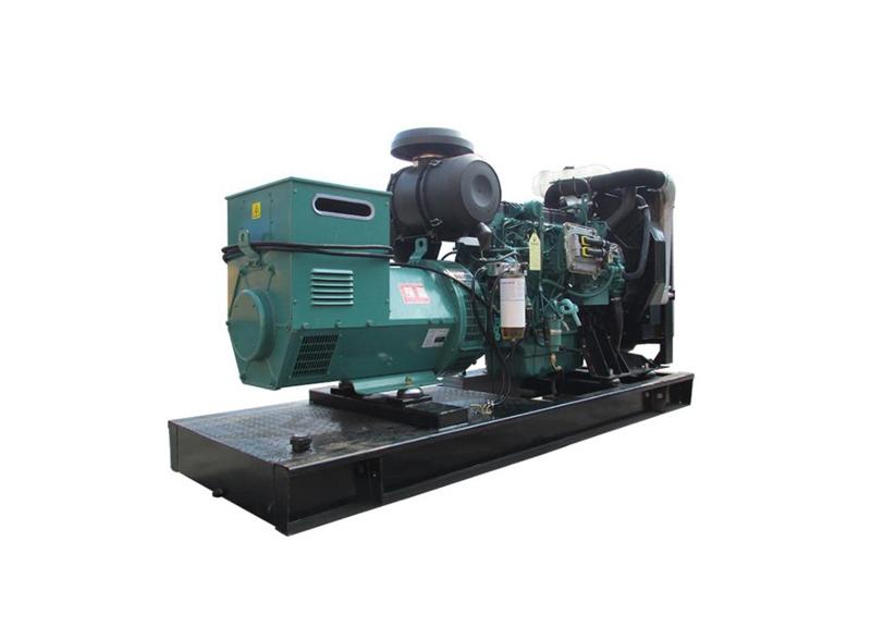 600KW移动式沃尔沃发电机组