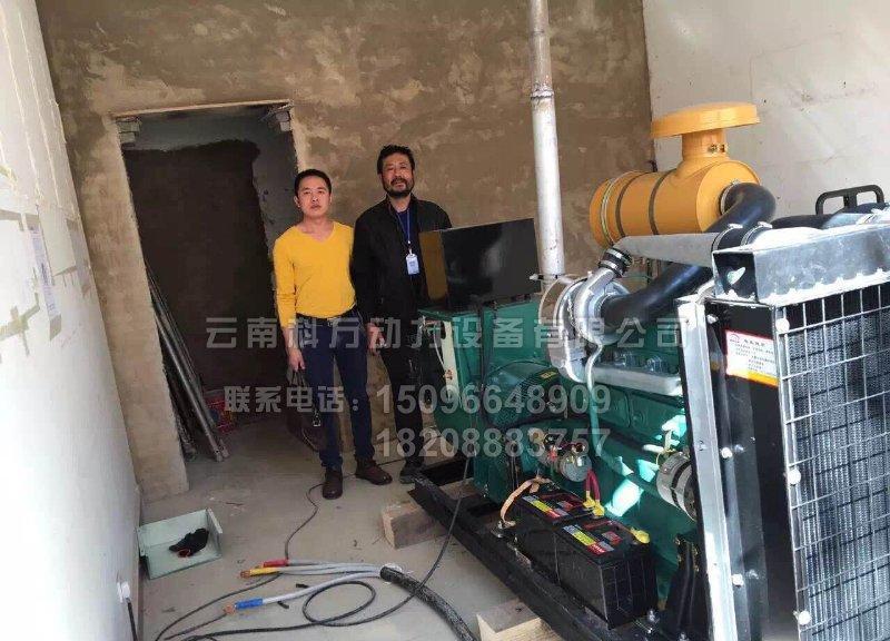玉溪制药厂备用150KW潍坊发电机组