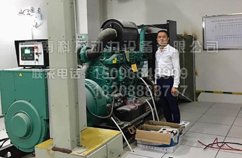 醫院備用400kw玉柴發電機組