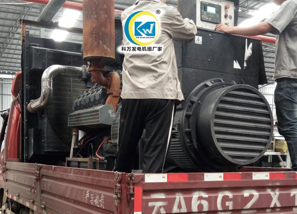 丽江搅拌站备用700KW道依茨发电机