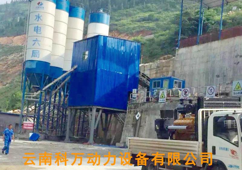 貴陽工礦企業備用靜音柴油發電機組