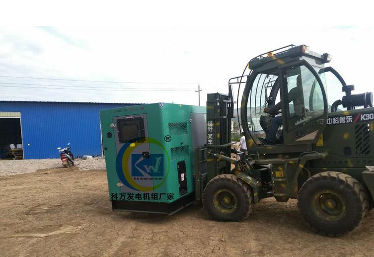 麗江藍莓基地專用高端靜音發電機組