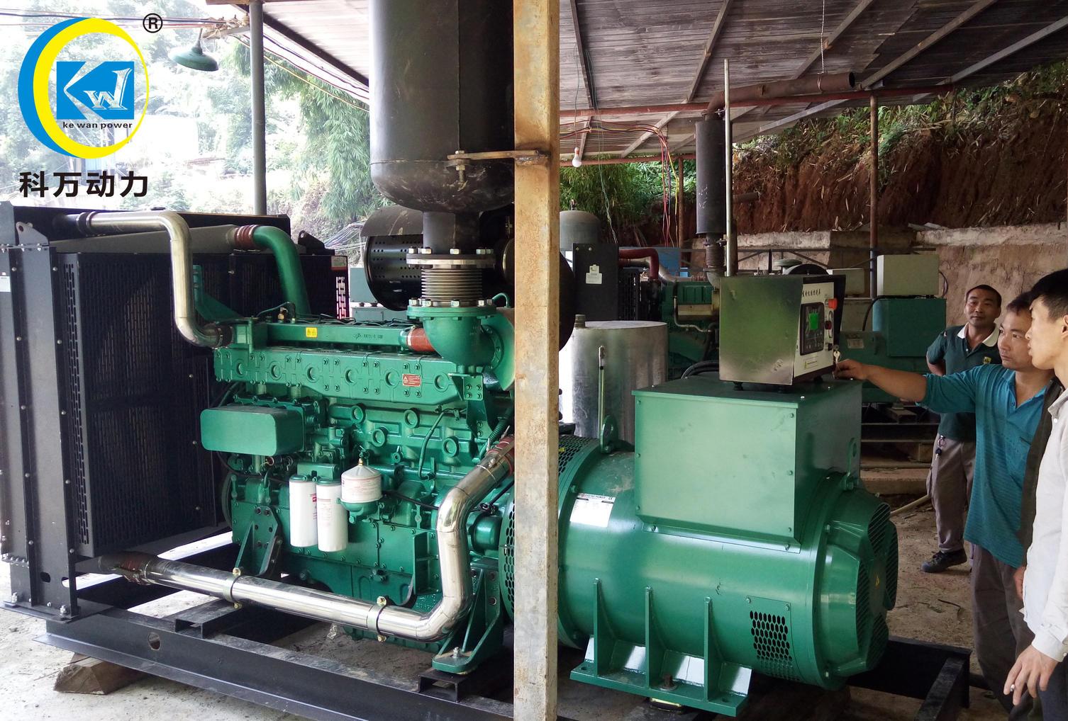石屏县某铅矿公司采用工矿企业备用玉柴600kw发电机组