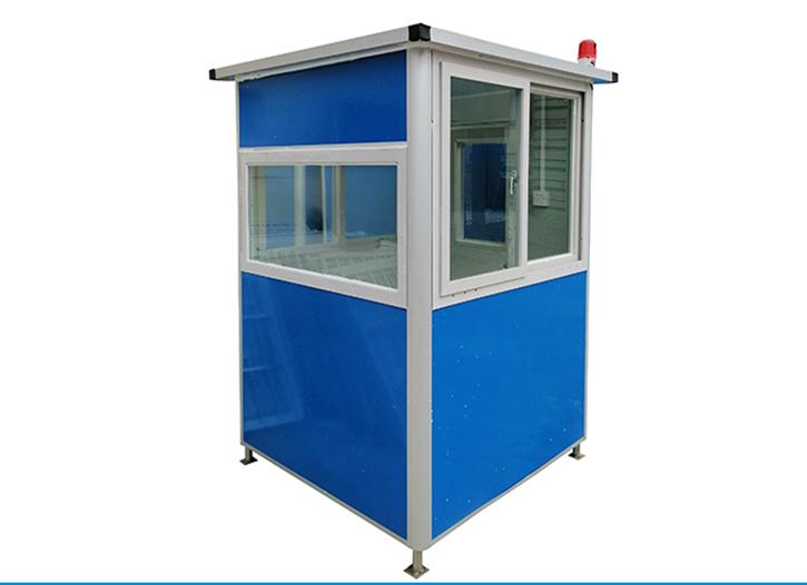 建造集装箱岗亭需要注意什么