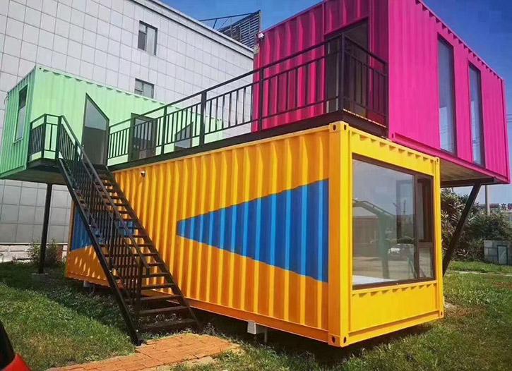 彩色集装箱