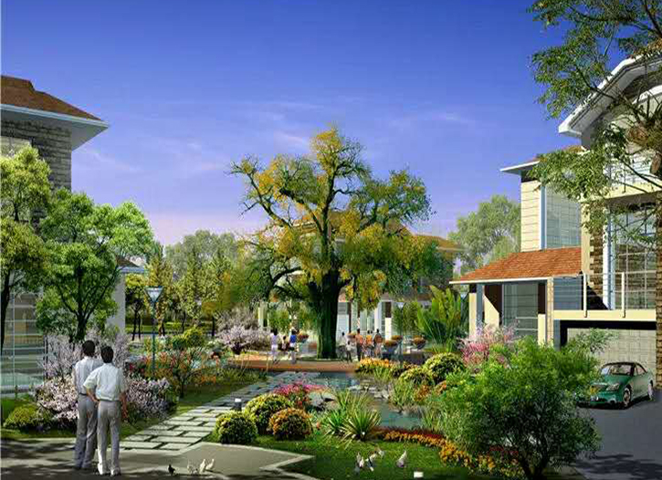 眉山园林景观绿化设计