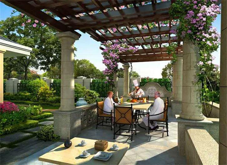 眉山歐式庭院設計