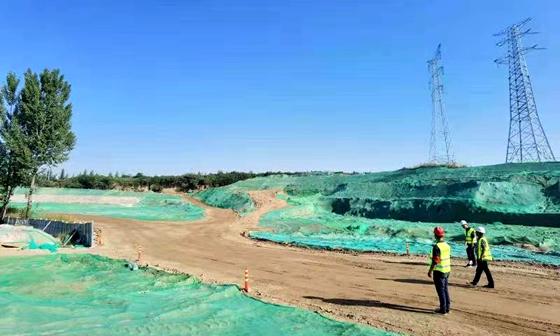 西咸新区沙河湿地生态修复项目施工V标段工程