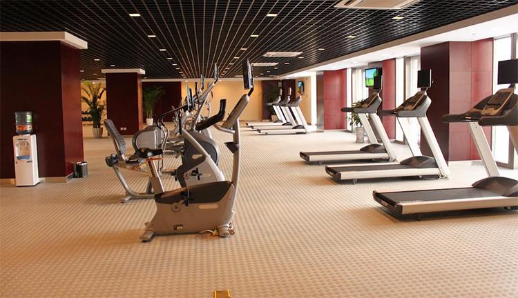昆明南亚风情园豪生大酒店-健身房图片