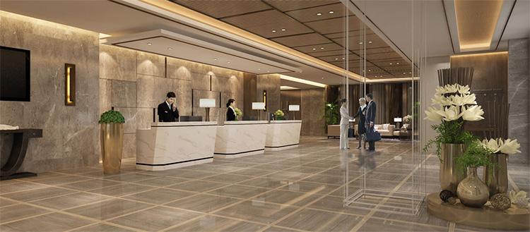 云南华地王朝大酒店-大堂环境展示