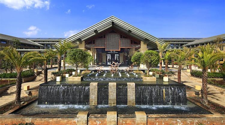 昆明洲际酒店-外景展示
