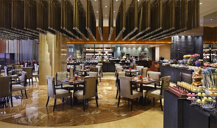 昆明洲际酒店-会议酒店餐厅环境展示